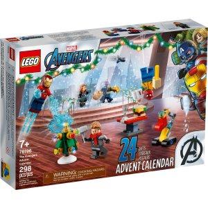 Lego漫威复仇者联盟圣诞日历 76196