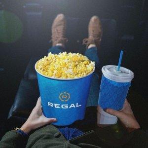 仅$1 看电影Regal 电影院精选时段 夏季全家欢电影优惠大放送