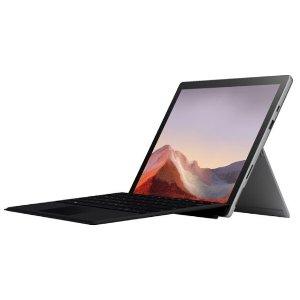 网络周一开抢:Surface Pro 7 (i3-10110U, 4GB, 128GB) 带TypeCover