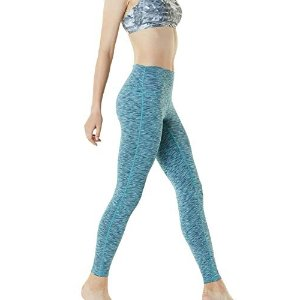 Tesla 高腰瑜伽裤xs码 孔雀蓝色