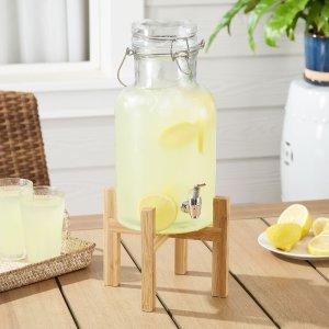 MAINSTAYS透明饮水壶 1.2 Gallons