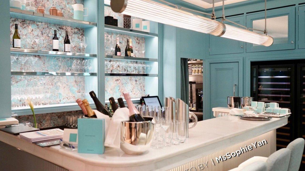伦敦美食 | 伦敦Tiffany咖啡屋,到底值不值得去?