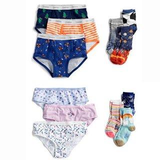 50% Off + Extra 20% Off $50 +OshKosh BGosh Kids Socks & Undies on Sale + 2X Points