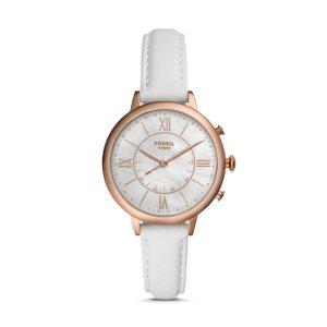 FossilHybrid Smartwatch - Jacqueline White Leather