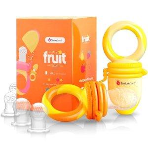 NatureBond Baby Food Feeder / Fruit Feeder Pacifier 2 PCs - Infant Teething To   eBay