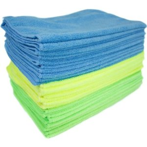 Zwipes Microfiber Cleaning Cloths, Multicolor, 24-Pack - Walmart.com