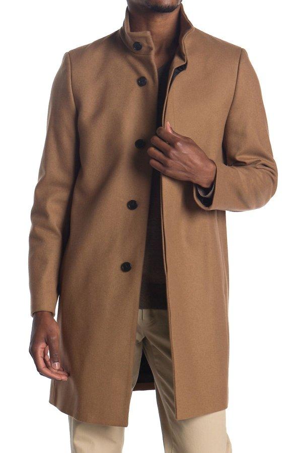 Belvin 羊毛混纺外套