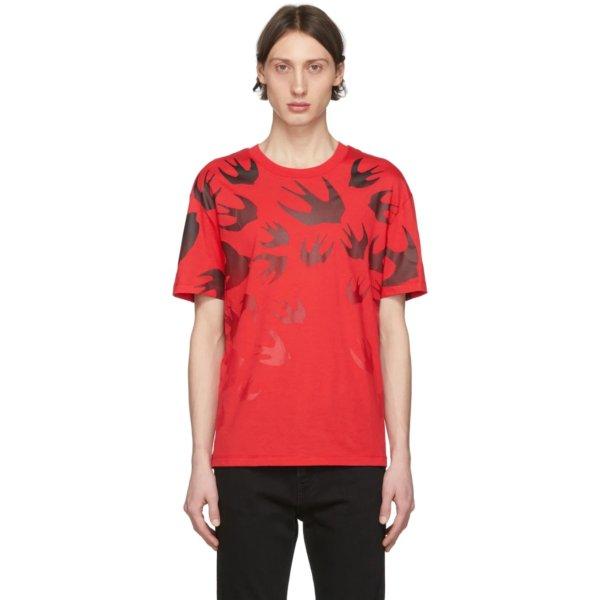 红色小燕子T恤