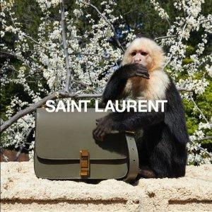 满额8.8折 £677收经典信封包Saint Laurent 全场美包美鞋热卖 多色Niki、Kate流苏包补货