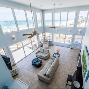From $864 Sleep Up to 14Over The Rainbow Sandestin Beach Gulf Frong Luxury Villa For Multiple Family