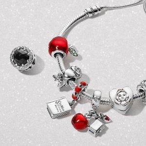 低至5折 £75收手链+耳环Pandora潘多拉 火热大促 精美手链等你来收