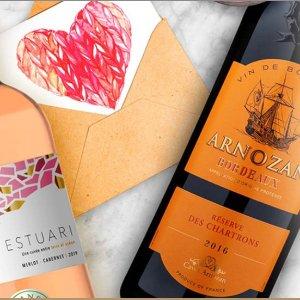 全场7折 智利红宝石葡萄酒$9.7Martha Stewart Wine 葡萄酒情人节促销