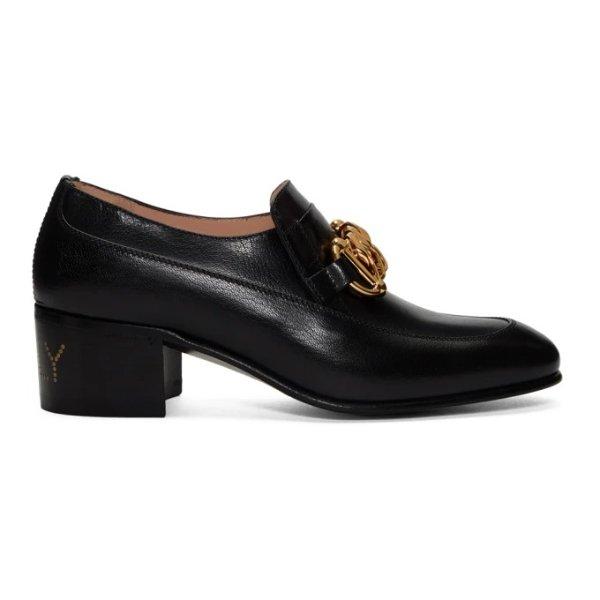 新款高跟乐福鞋