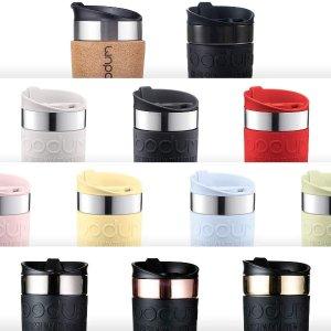 折后€14 原价€24Bodum 不锈钢咖啡杯 密封保温还环保 最合适咖啡的随行杯!
