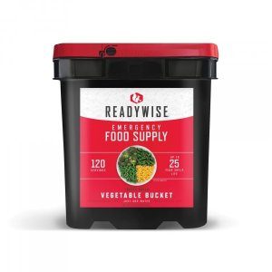 ReadyWise Emergency Freeze Dried Vegetables - 120 Servings
