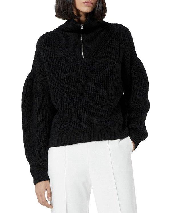 Half Zip 毛衣