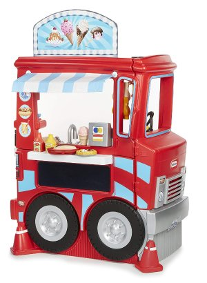 5折起 封面餐车刷新史低$69.88折扣升级:Little Tikes 儿童户外玩具特卖
