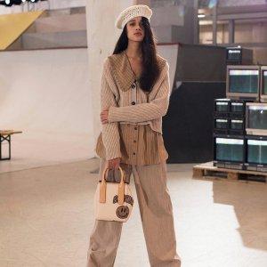 新品7折 £67收开衫Ganni 黑五大促开启 收超有型小西装外套、开衫等