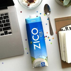 $3.58 Zico 100% Premium Coconut Water, 33.8 FL OZ