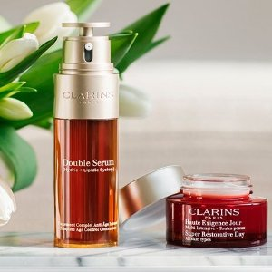 Last Day: Dealmoon Exclusive Free 11-piece Giftwith any gift sets on $100+ order @ Clarins