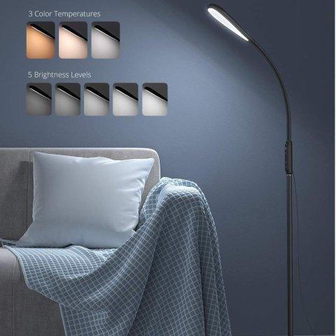 TaoTronics 可调光可调高度LED节能落地灯