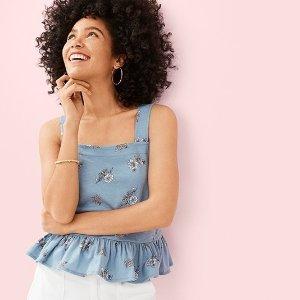 Up to 70% Off + Extra 15% OffLOFT Outlet  Get set For Summer sale