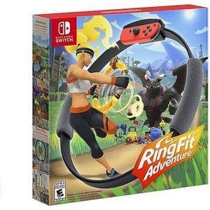 £79.99手慢无补货:Ring Fit Adventure 健身环大冒险套装 176店补货