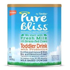 6.5折 + 包邮 低至$16/罐补货:Similac 婴幼儿配方奶粉大促,收高端Pure Bliss系列、金盾三段