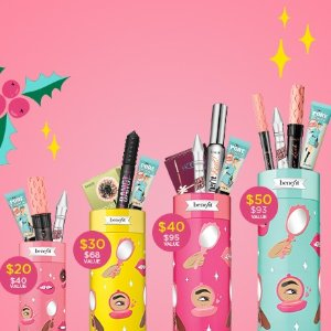 Up to $15Benefit's Holiday Sets Launches