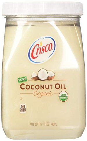 $6.16Crisco Organic Coconut Oil 27 Fluid Ounce