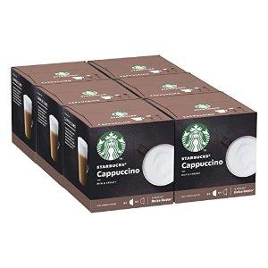 Starbucks卡布奇诺卡布奇诺 胶囊咖啡 72颗 (6 x 12)