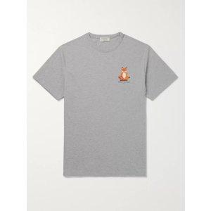 Maison KitsuneLogo T恤
