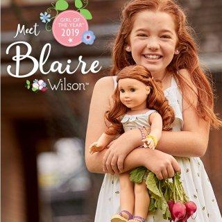 Meet BlaireGirl of The Year 2019 @ American Girl