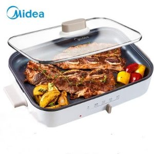 $21.37逆天价:Midea MC-DY3020 多功能电烤锅