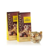Godiva 牛奶焦糖夹心巧克力 19粒装 2袋