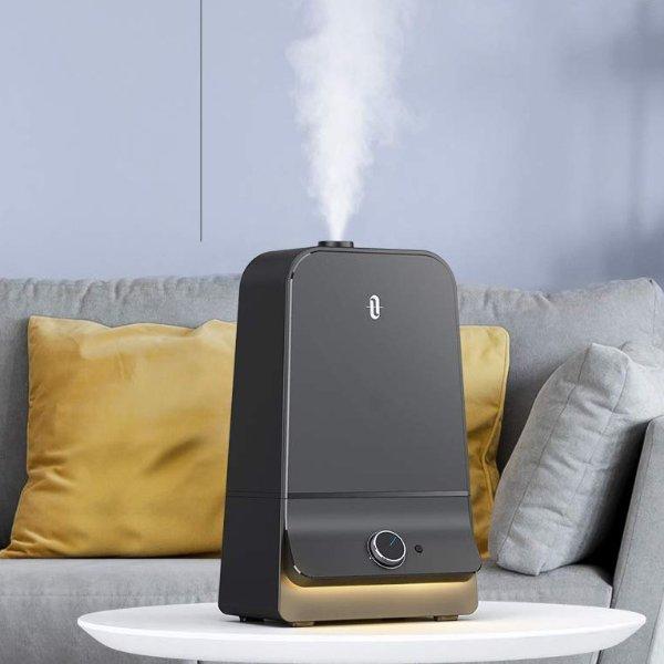 超声波静音冷雾加湿器超大6升水箱 带夜灯