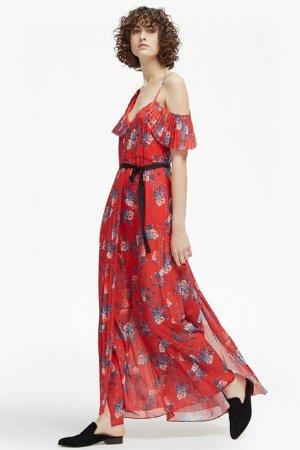 Kioa Drape Strappy Maxi Dress   Dresses   French Connection Usa