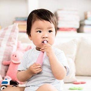 5.9折闪促 多色可选FOREO Issa 婴幼儿硅胶电动牙刷热卖 0-4岁适用