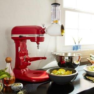 $219.99黒五价:KitchenAid Pro 5 Plus 5夸专业升降式厨房料理机 多色可选