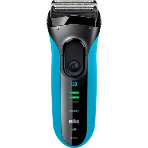 8a3afb31101 Braun- Series 3 Solo Electric Shaver - Black Blue 689754811638