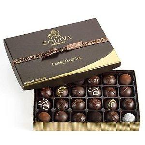 Godiva拼单7折黑松露巧克力礼盒 24粒