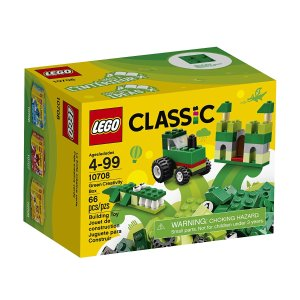 $4LEGO Classic Green Creativity Box 10708 Building Kit