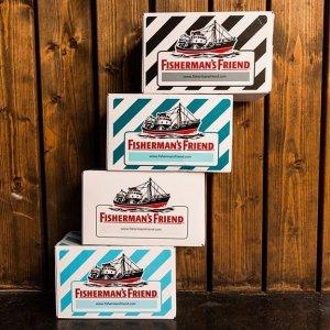 低至6.5折 仅€0.66每包Fisherman's Friend 渔夫之宝润喉糖 缓解咽喉不适 畅销全球