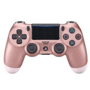 31.99 (原价$39.99)比黑五低:PS4 无线震动手柄 玫瑰金、钛蓝等 多色可选