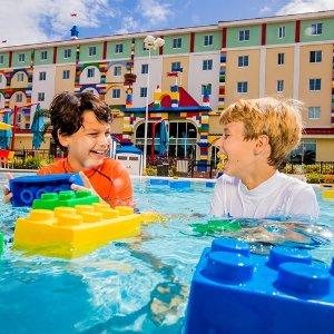 低至4.9折 豪华房仅$259Agoda 乐高乐园加州度假村 热门主题客房 好价促销