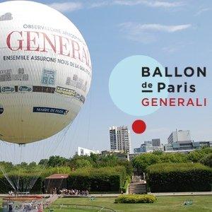 单人票价€10(原价€15)Paris Generali Balloon 热气球门票热卖 带你俯瞰整个巴黎