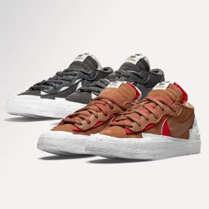 抽签登记中 Converse x RO首发$185END. 潮流新品速递 Nike x Sacai Blazer全新配色$165
