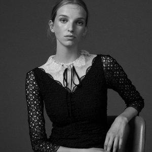 低至5折+免邮Sandro Paris 精致美裙热卖 过冬也要精致浪漫