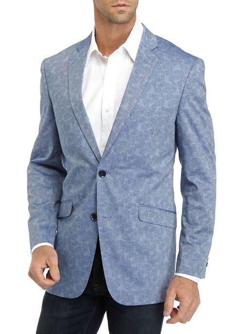 Men's Chambray 浅蓝西装外套