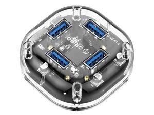 $9.99 (原价$25.99)ORICO Creative Transparent USB 3.0 探索版扩展器